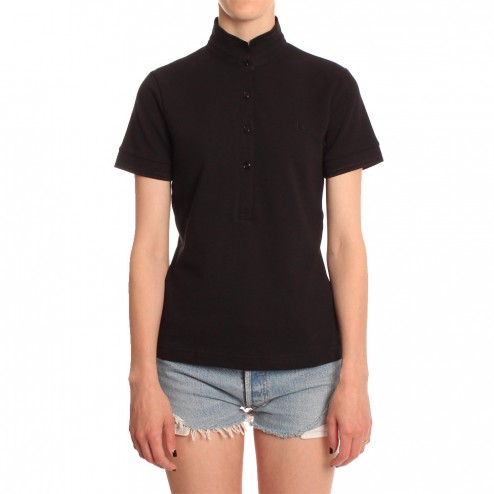Fred Perry For The Amy Winehouse Black SG2200 Stand Collar Shirt