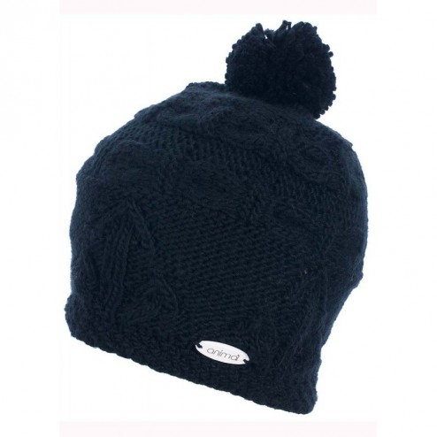 Animal Womens Albany Knitted Bobble Hat