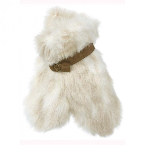 Animal Womens Chicory Faux Fur Mittens