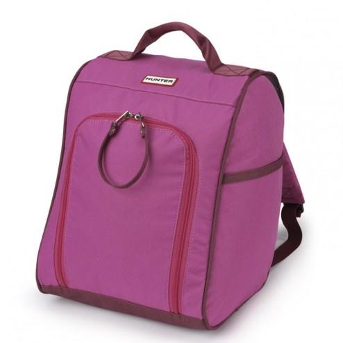 Hunter Kids Rucksack Boot Bag - Fuchsia