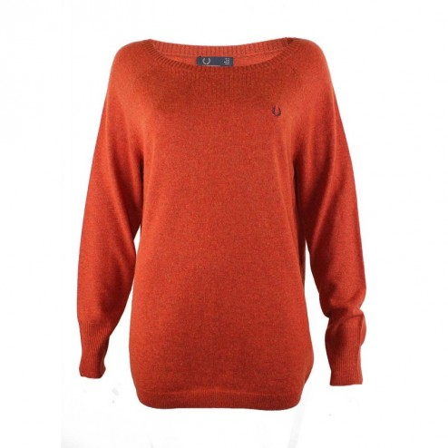 Fred Perry Womens Relaxed Fit Jumper