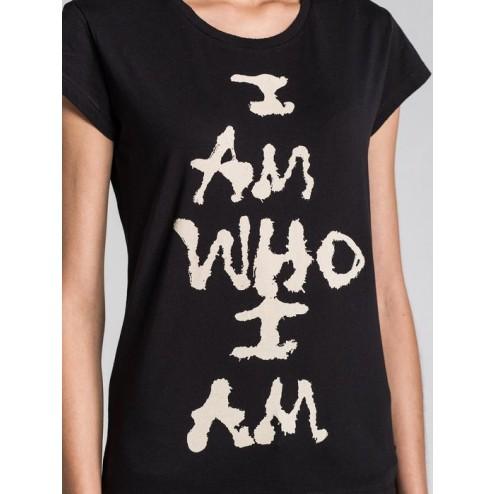 Diesel Ladies T-lindo Black Printed T-shirt