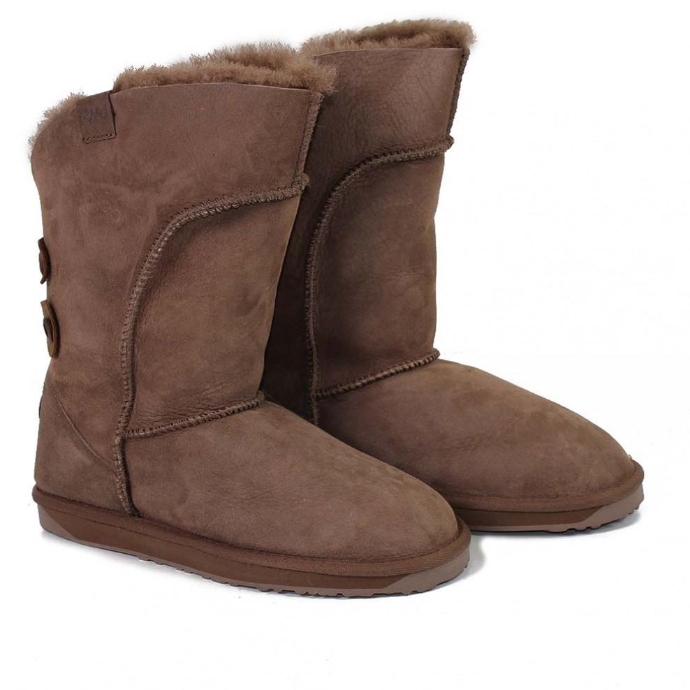 fbaba17ae8a EMU Australia Womens Alba Sheepskin Boots Mushroom Available Online ...