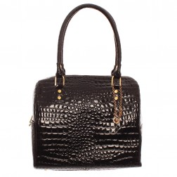 Fred Perry Black Amy Winehouse Croc Bowling Bag