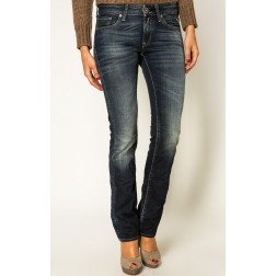 Replay WX670 Women's Skinny Jeans - Dark Blue