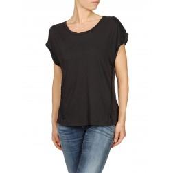 Diesel T-Athan Women's Plain T-Shirt - Black