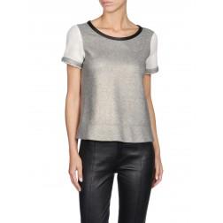 Diesel T-Lona Women's Sweatshirt - Grey Melange