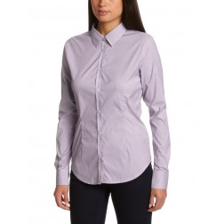 Henri Lloyd Women's Wine Billie Stripe Long Sleeve Shirt
