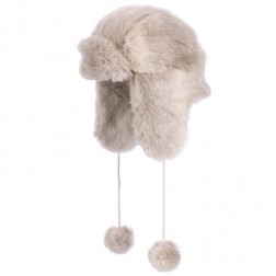Animal Womens Chive Aviator Faux Fur Winter Hat