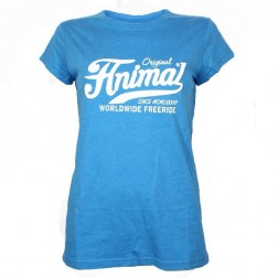 Animal Womens Allow Long T-Shirt Blue