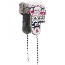 Animal Womens Ellery Aviator Faux Fur Winter Hat