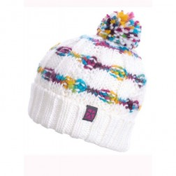 Animal Womens Emerald Knitted Bobble Hat
