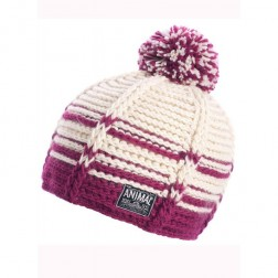 Animal Womens Jade Knitted Bobble Hat