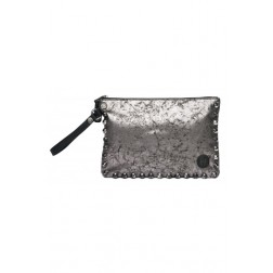 Replay Ladies Metallic Polyurethane Envelope bag