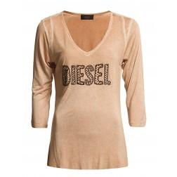 Diesel Women's 00S4LL T-Tulur 3/4 Beaded Top