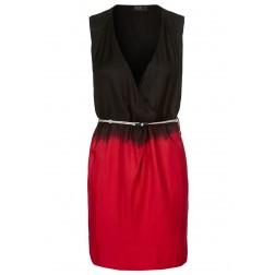 Diesel D-Mia Cocktail Dress - Black/Red
