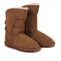 EMU Australia Womens Alba Sheepskin Boots Chestnut