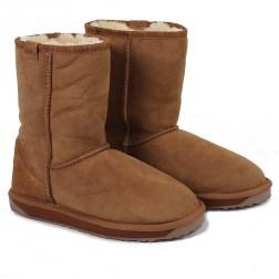EMU Australia Womens Stinger Lo Sheepskin Boots Chestnut