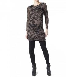 Firetrap Womens Black Agnes Draped Dress