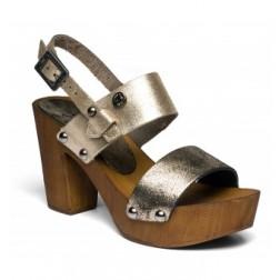 Replay Ladies Black Dukesse Clog Sandals