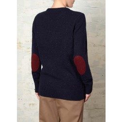 Fred Perry Womens Flecked Crew Neck Sweater