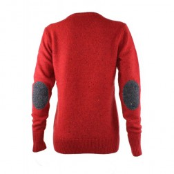 Fred Perry Womens Flecked Crew Neck Jumper