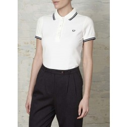Fred Perry Womens Twin Tipped Polo Shirt