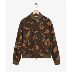 Fred Perry Margate Ladies Camo On the Run Bomber Jacket