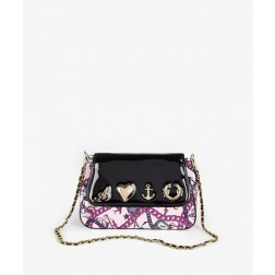 Fred Perry For The Amy Winehouse Chain Print Satchel Bag