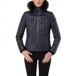 Hunter Women's Short Down Jacket - Midnight Blue